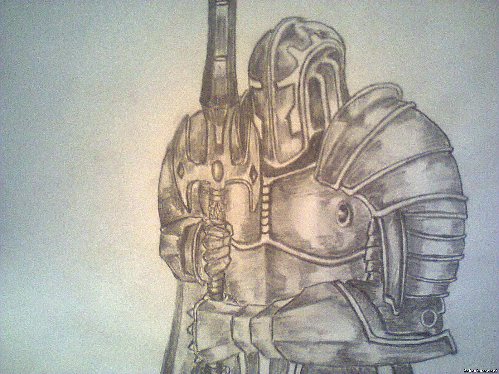 3 рисунки карандашом warcraft